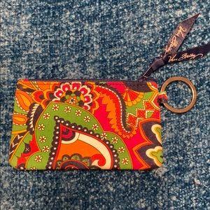 Colorful Vera Bradley Coin Pouch
